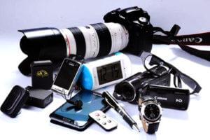 equipamentos-de-detetive-espionagem