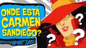 Jogo de detetive Carmen