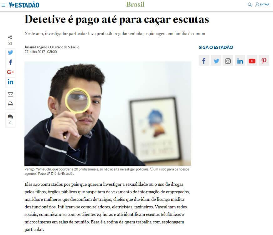 Matéria do Jornal do Estadão