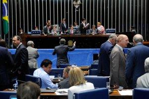 Plenário em 15 de março, quando foi aprovado o projeto de regulamentação da atividade de detetive